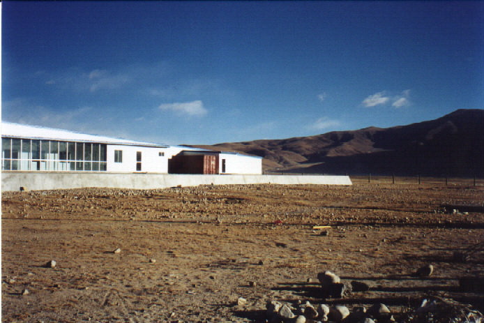 Outlook of the ARGO building 3